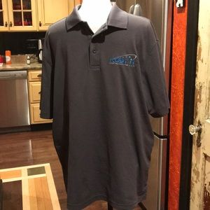 EUC Gray men's champion golf shirt